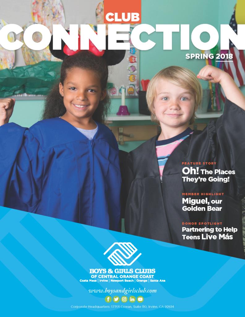 Spring 2018 newsletter cover