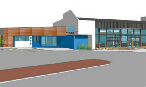 rendering of irvine club exterior