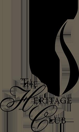 The Heritage Club black logo