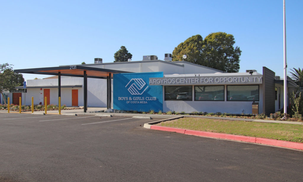 Boys & Girls Club of Costa Mesa exterior