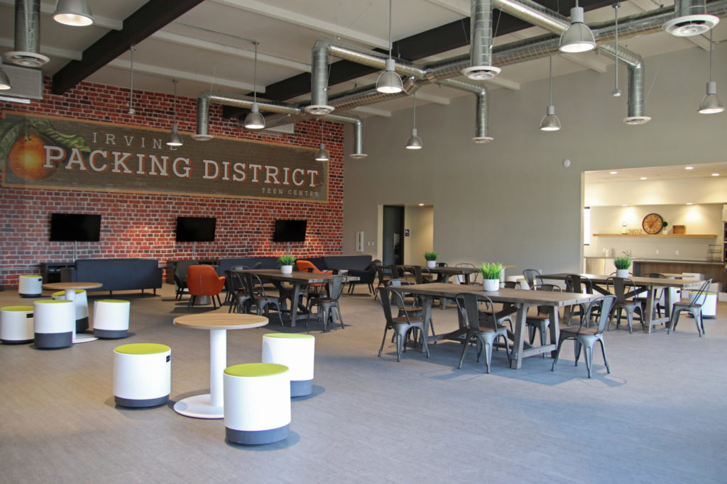Irvine Packing District Teen Center