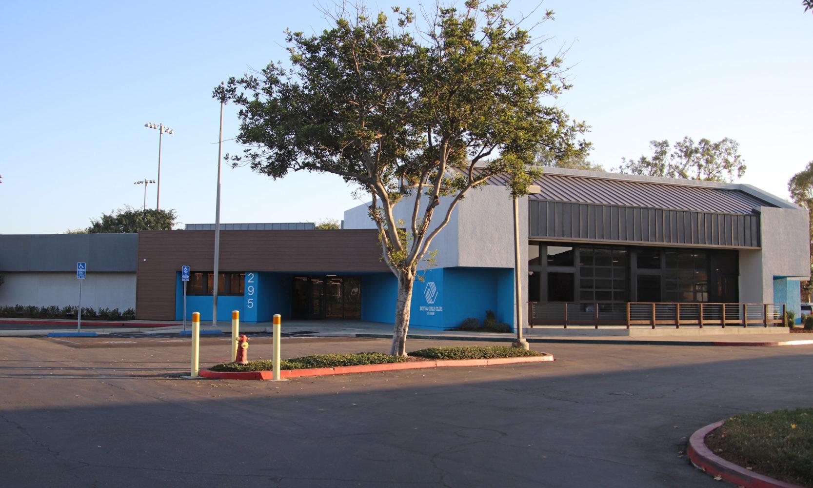 Boys & Girls Club of Irvine exterior