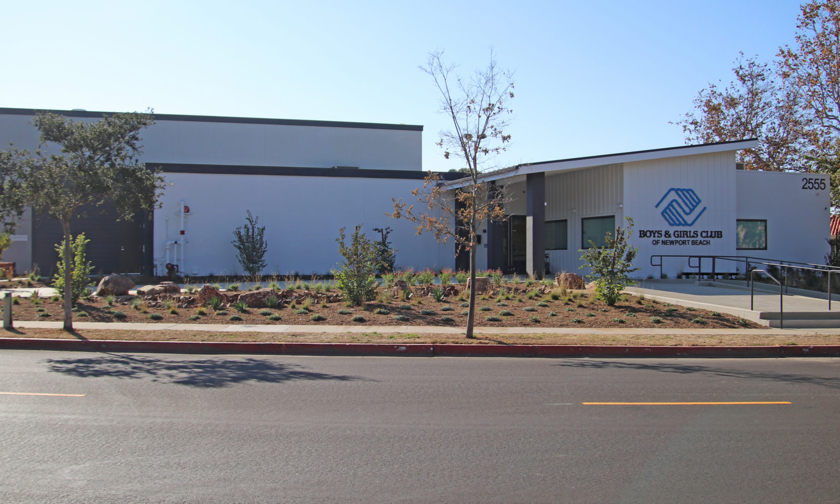 Boys & Girls Club of Newport Beach exterior