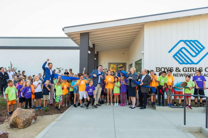 Ribbon Cutting Ceremony at Boys & Girls Club of Newport Beach